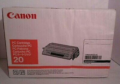 Canon 20 Black Laser Toner 1486A002(AA) Open Box Sealed Inside for sale  Shipping to India