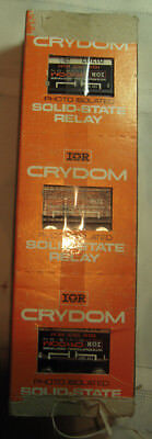 Crydom Solid State Relay D1202 Lot Of Three