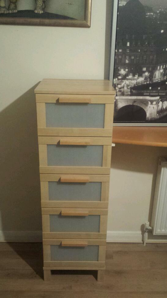 ikea aneboda drawer dresser in forest hill london gumtree. Black Bedroom Furniture Sets. Home Design Ideas