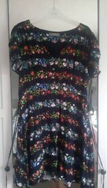 Oasis Women's Ditsy Floral Dress - size 16