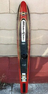 """HO OBRIEN WIDE RIDE 65"""" WATER SKI W/ RTS BOOTS 3,600 Square Centimeters"""