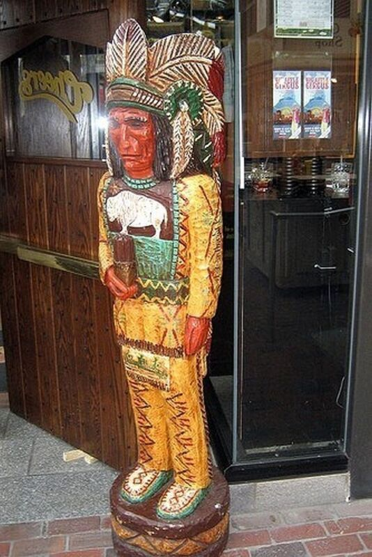 """CIGAR STORE INDIAN 4 Ft """"Cheers"""" TV Show 4"""