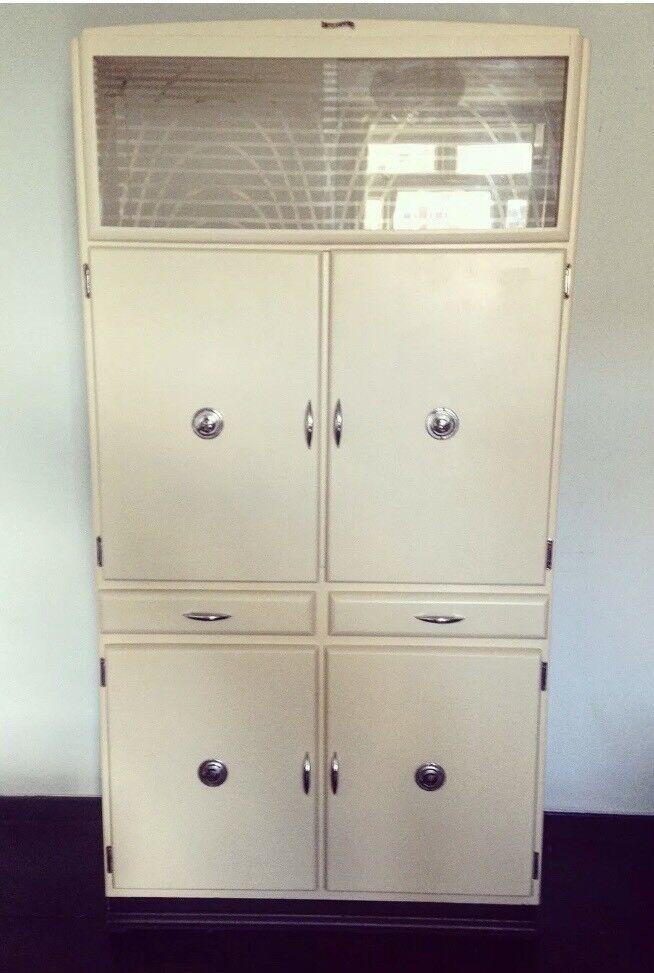 Vintage Shefco 50s 60s Kitchen Larder Cabinet Mid Century Retro In Hoxton London Gumtree