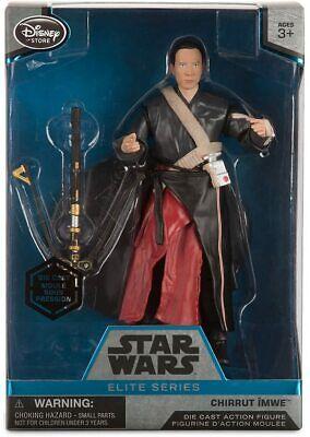 Disney Store Star Wars 6'' Elite Series Die-Cast Figure Chirrut Imwe