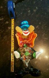 Glass clown