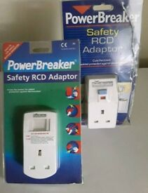 Power breakers safety RCD adaptor .