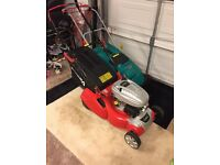 New cobra lawn mower with roller + edge strimmer
