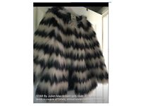 Girls faux fur coat immaculate condition