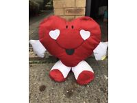 Heart Shaped Teddy Bear Toy