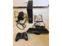 Xbox 360 Slim 4GB with Kinect and Kinect Adventures