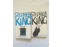 2 STEPHEN KING BOOKS