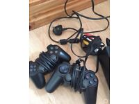 PlayStation 2 (leads, 2 controllers & memory card)