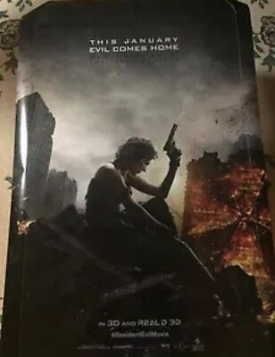 Resident Evil The Final Chapter Teaser Authentic 27X41 D S Rolled Movie Poster