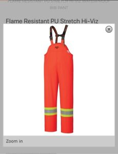 NEW!! Hi-Vis FR waterproof and wind proof overalls - size XXL