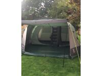 Hi Gear Mojave 5 tent. Green