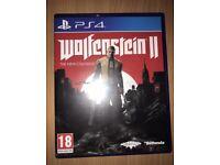 Wolfenstein 2 ps4 £10