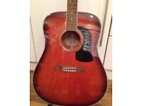 Washburn d10 s acoustic guitar