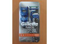 New! Gillette fusion proglide