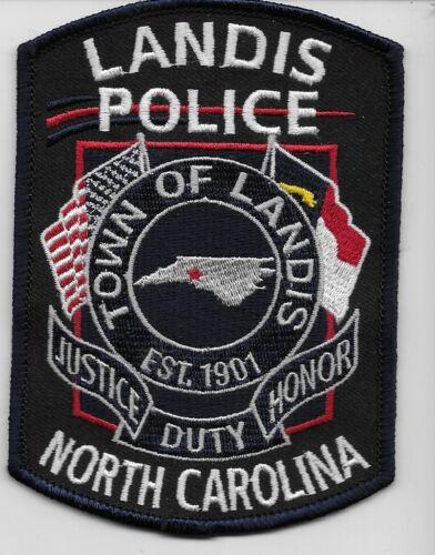 Landis Police State North Carolina NC NEW