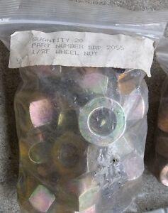 """1/2"""" R/H X 1"""" O/D HEX WHEEL NUTS , 2 - 20 PACKS $20.00 PER PACK. Belleville Belleville Area image 2"""