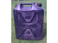 Ex British Army 20L Water Container Jerry Can. Camping Cadets Footbal Rugby