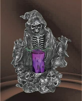 Grim Reaper Burner Wax Tart Scented Oil Candle Warmer Electric Polyresin