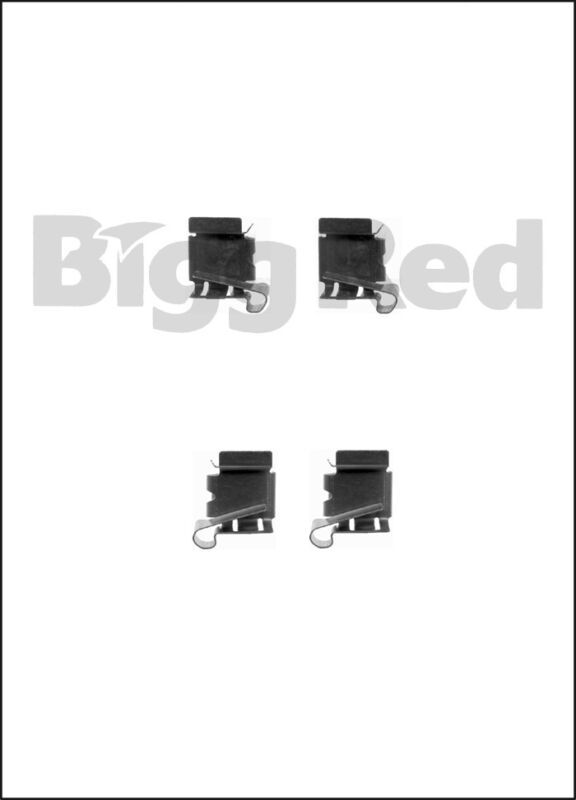 Front Brake Caliper Pad Fitting Kit to fit Lexus IS200, IS300 & GS300 (99-05)