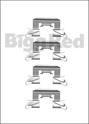for Volvo S60 S80 V70  Rear Brake Caliper Pad Fitting Kit RH1123