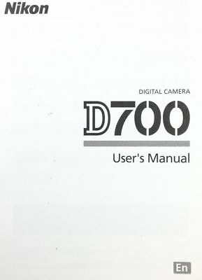 Инструкции и руководства NIKON D700 DIGITAL