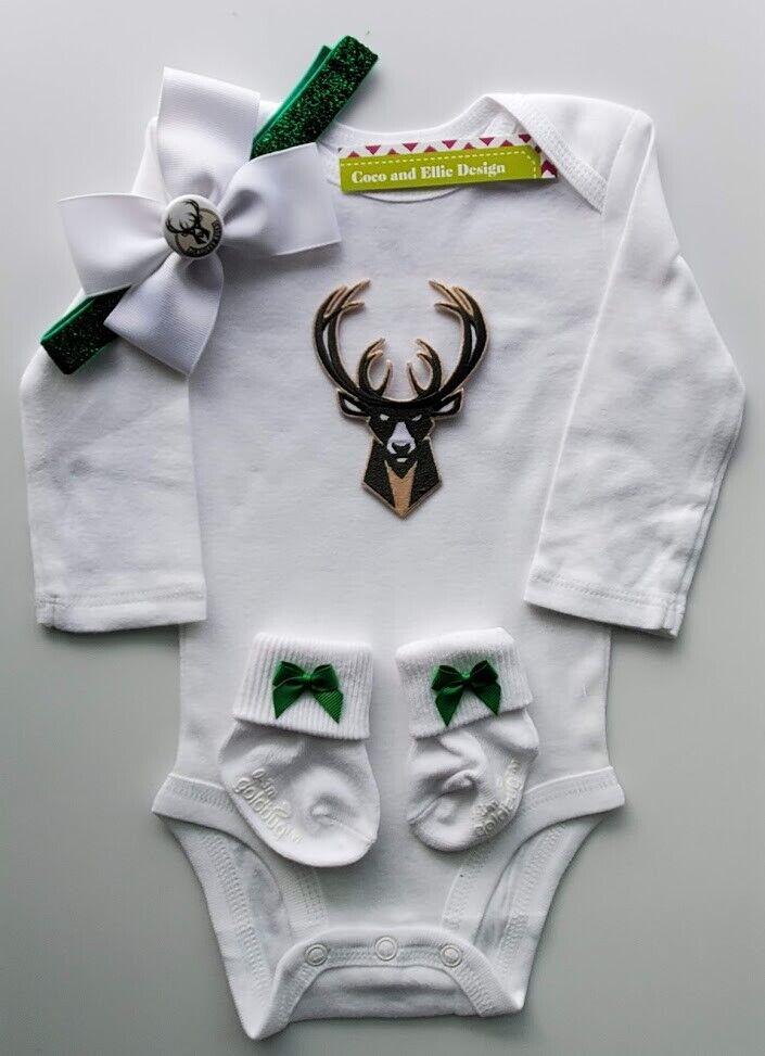 Bucks infant/baby clothes girl Bucks baby shower gift girl B