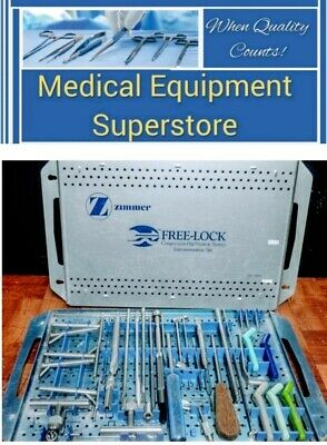 Zimmer Surgical Orthopedic Free-lock Compression Hip System With Case