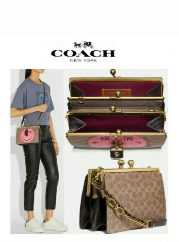 NWT Coach 1941 x Rexy by Yeti Out Double Frame Signature Can