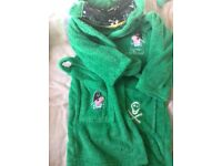 Peppa Pig dressing gown aged 6-7yrs