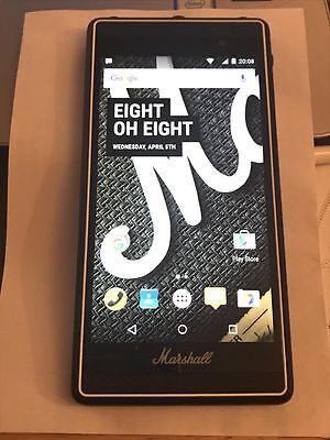 MARSHALL LONDON PHONE 16GB BLACK UNLOCKED 4G/LTE 3G - Smart Music Phone