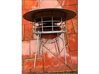 Stainless steel, silver, Chimney pot covers