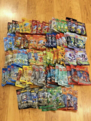 LEGO MIXELS - ALL 81 SETS - SERIES 1 - 9! COMPLETE!! RARE!! RETIRED!! SEALED!!