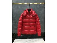 Red Maya Dawn Jacket Moncler