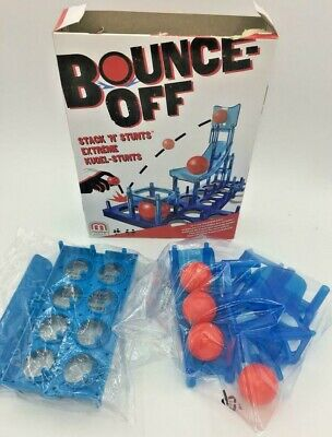 Mattel Bounce-Off Stack 'N' Stunts Childrens Strategy Party Fun Adult Game Toy for sale  Shipping to Nigeria