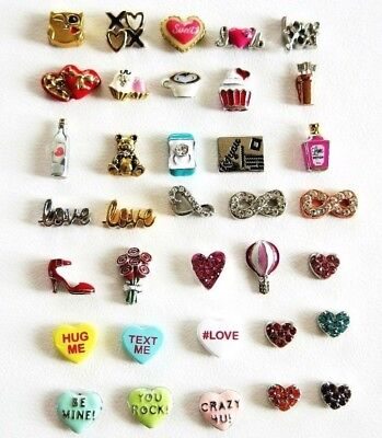 Authentic Origami Owl Valentine's Day Charms Love, Hearts, More Retired, htf ](Valentine Owl)