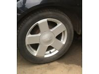 Ford Fiesta alloys and tyres