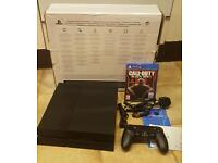 Playstation 4 500gb Black Jet with Black Ops 3