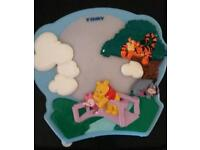 Winnie the pooh cot mobile light