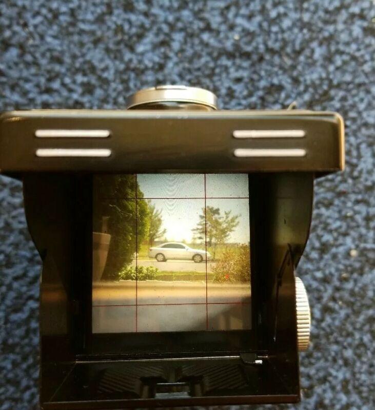 Vintage YASHICA-C TLR Film Camera 120mm