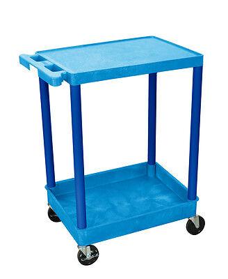 Luxor Flat Top And Tub Bottom Shelf Cart Bustc21bu New
