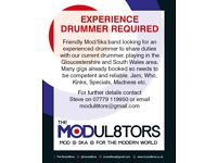 Experience Drummer Required