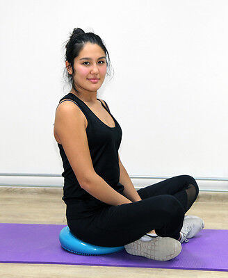 Balance Disc / Sitzkissen Pad Air Pilates Board Luft Kissen Rückentrainer Y17