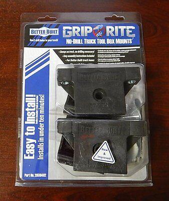 Better Built Grip Rite Truck Toolbox Tool Box Mounting Installation Kit No