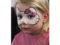 Face painting for kids parties