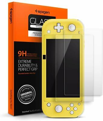 Nintendo Switch Lite Tempered Glass Screen Protector Spigen® [tR Slim] (2 Pack)