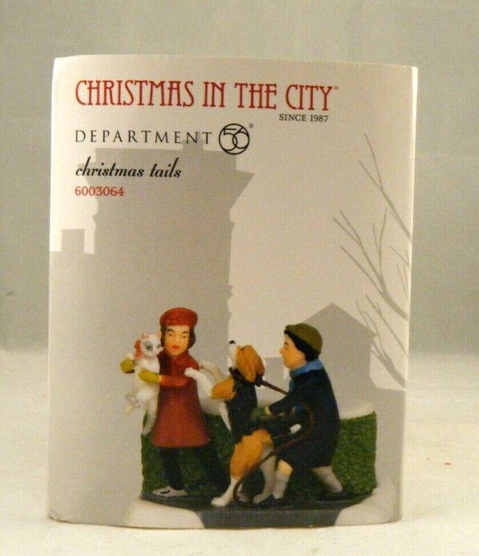 """D56 Christmas In City """"Christmas Tails"""" 6003064 NEW"""